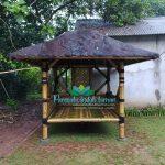 tukang saung bambu depok