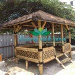jual saung bambu